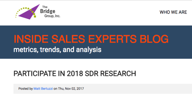 insidesales expert blog