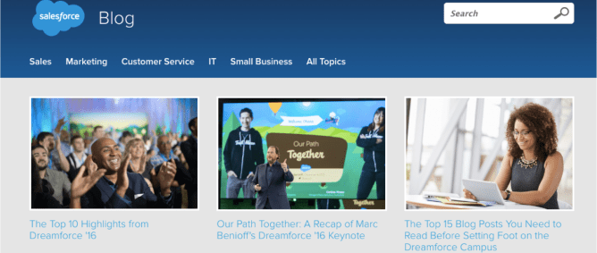 Salesforce blog