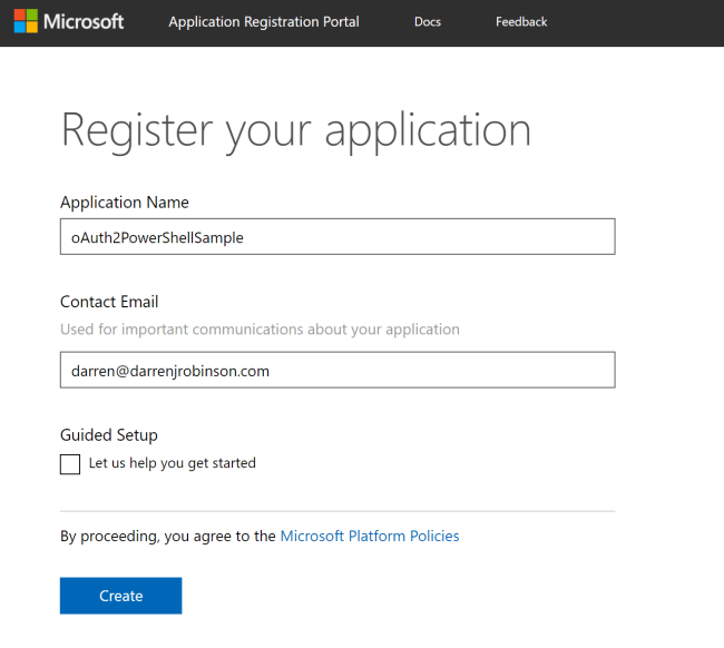 A quick start guide to leveraging the Azure Graph API with