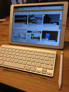 """Aus Maus wird Stift, das ipad Pro im """"mobilen Einsatz"""""""