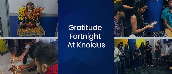 gratitude fortnight
