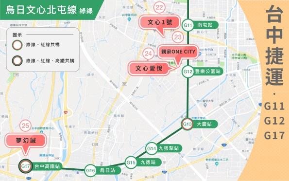 台中市綠線捷運小宅全攻略 31