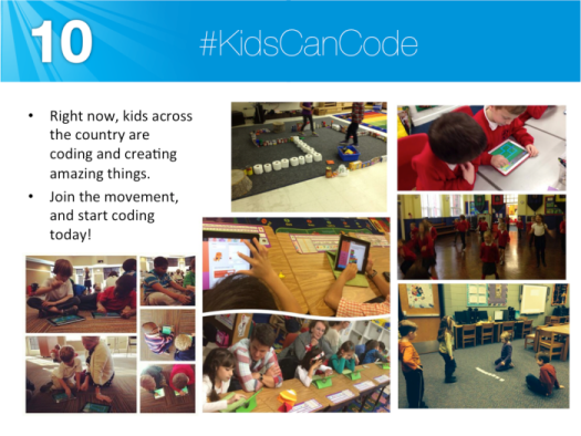 #kidscancode and are coding everywhere