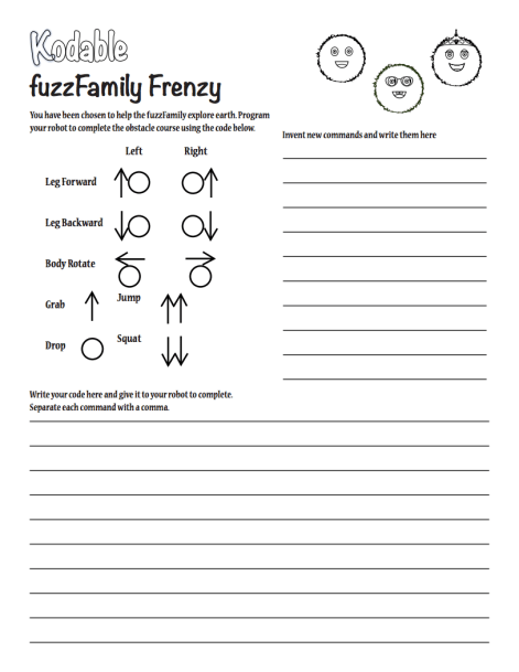 Use fuzzFamilyfrenzy to help students connect programming to the real-world