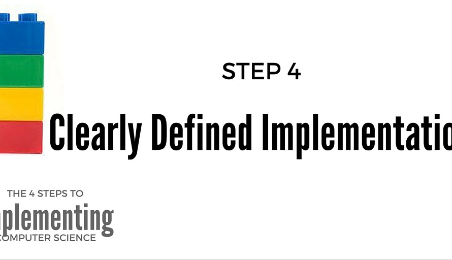 Full Implementation: Step 4 to Implementing Computer Science in Elementary