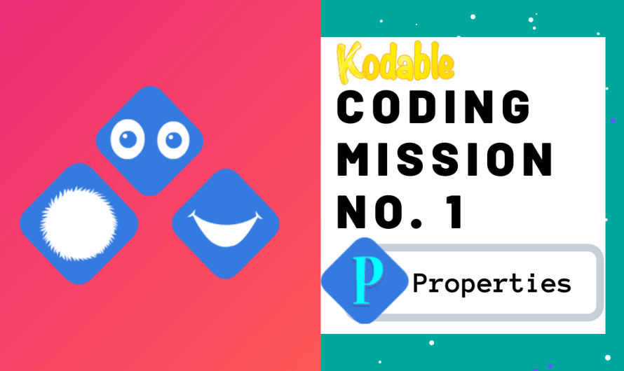 Coding Activity: Mission no.1 Properties