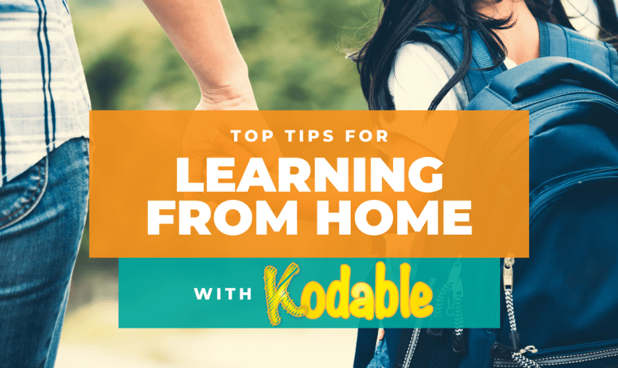 Learning From Home with Kodable