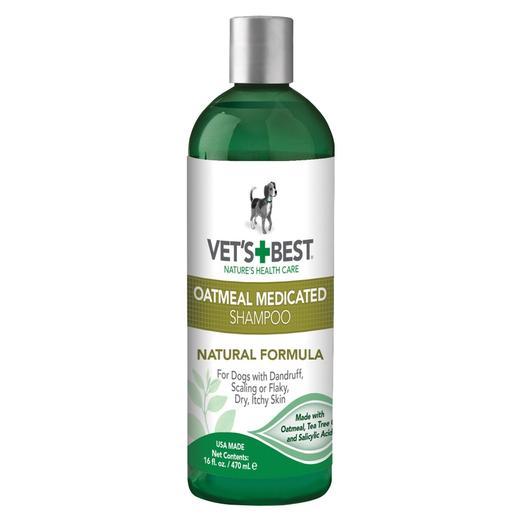 Vet's Best Oatmeal Medicated Shampoo (Spa Range)