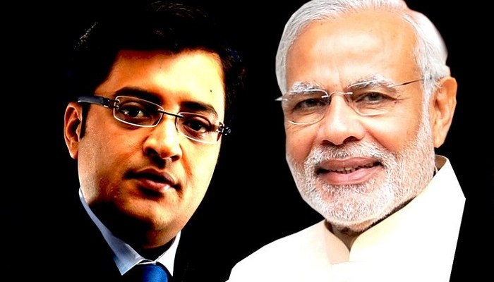 Narendra Modi Arnab Kokula Krishna Hari K