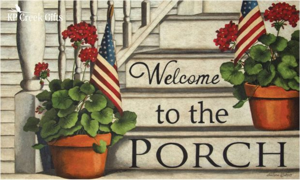Welcome to the Porch Mat
