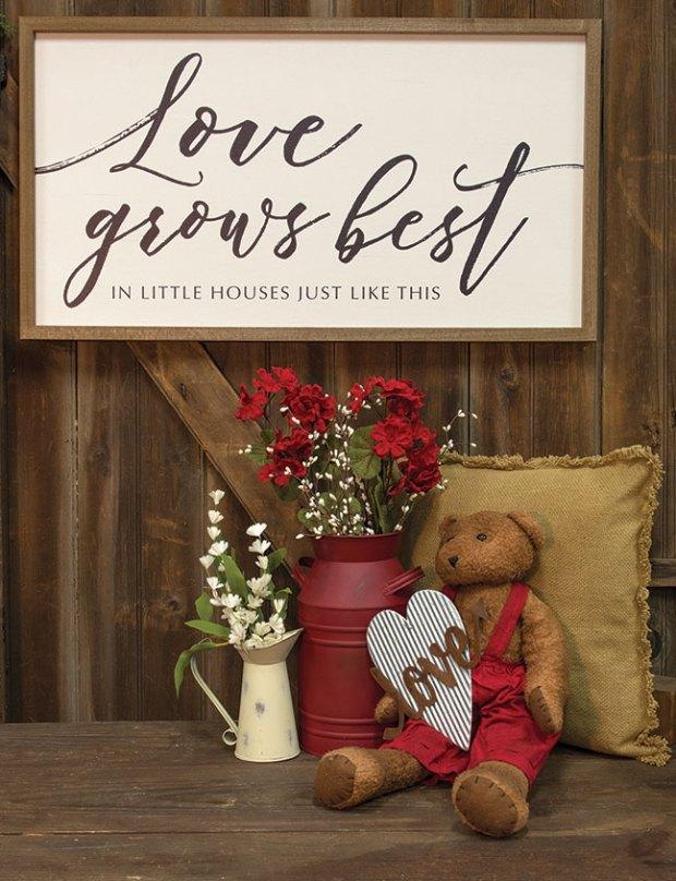 love grows best