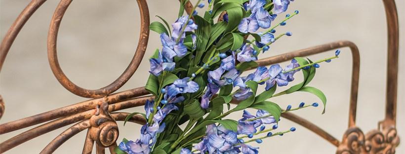 Blue Delphinium Spray