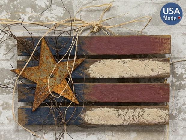 americana lath flag