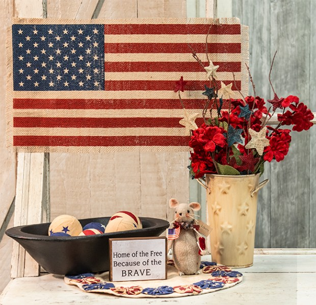 4th of july patriotic decor