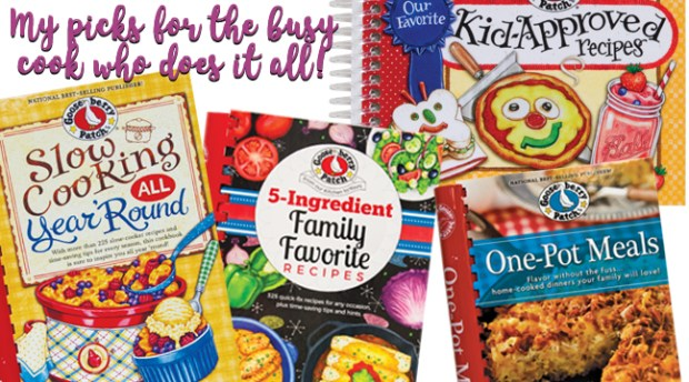 favorite family friendly cookbooks