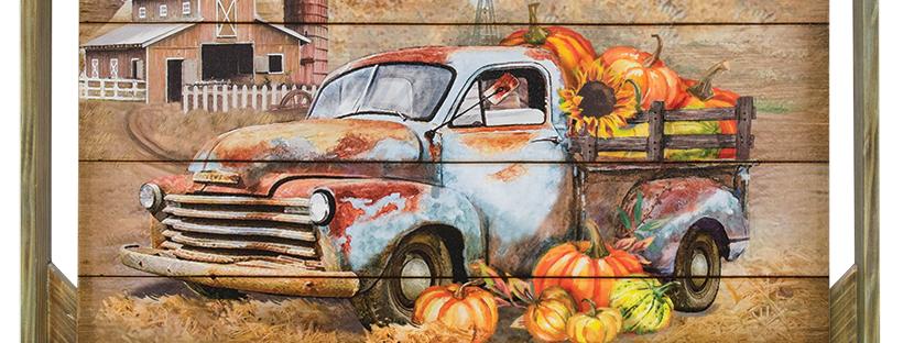 vintage truck print