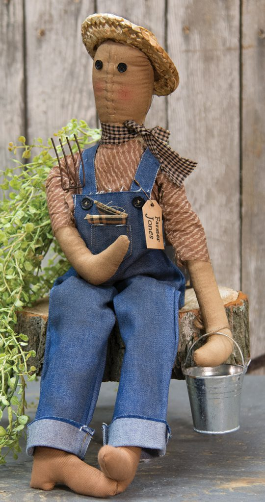 farmer jones primitive doll
