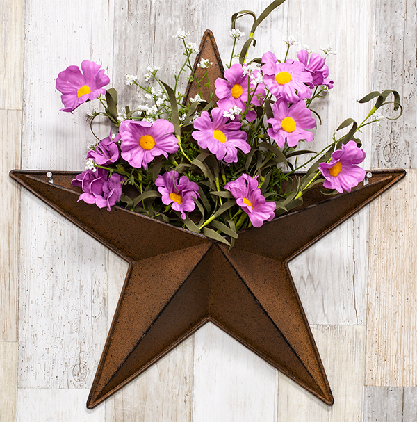 barn star wall accent