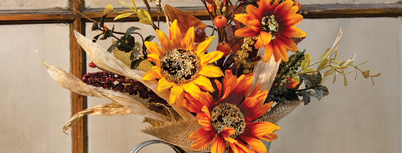 fall harvest florals
