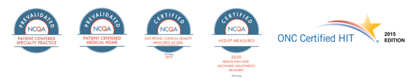 NCQA certified, ONC Certified HIT