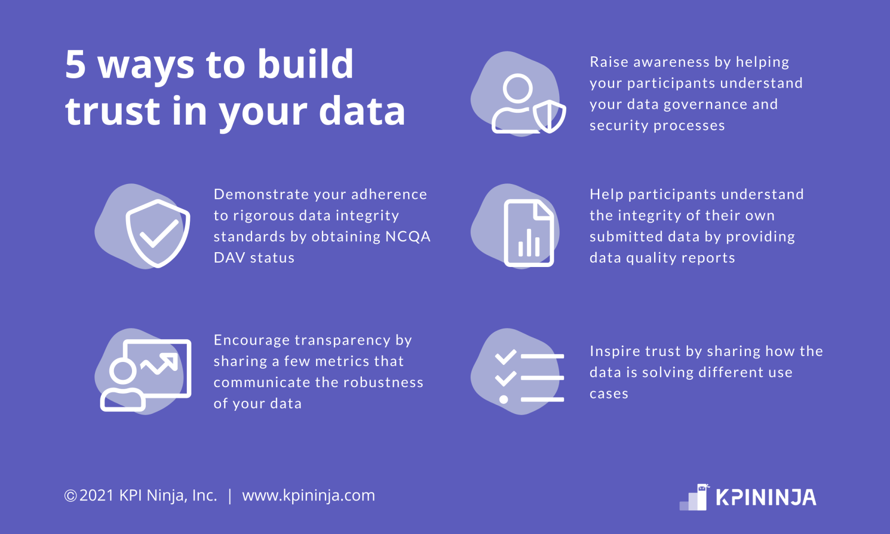 five ways to build trust in your data