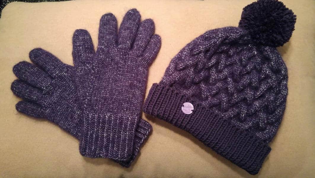 Handschuh Nadelwahnsinn zu Weihnachten