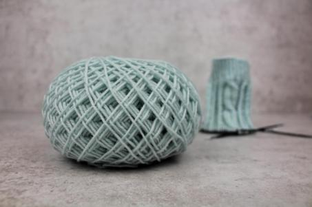 Detail Bild Wollknäuel regia premium cashmere sockenwolle in soft mint