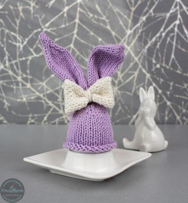 strickanleitung zu Ostern aus Catania Wolle mit Hasenohren