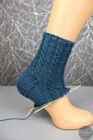 Twisted Left Socks