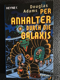 Per Anhalter durch die Galaxis Book Cover
