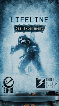 Lifeline: Das Experiment (Lifeline Whiteout) Book Cover