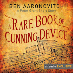 a rare book of cunning device ben aaronovitch