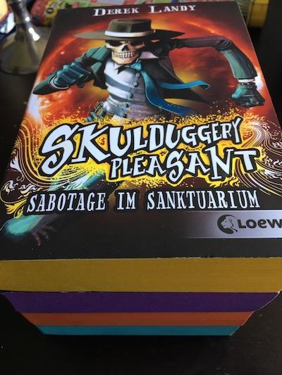 Sabotage im Sanktuarium Book Cover