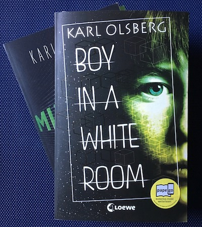 Boy in a White Room Book Cover