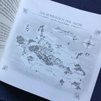 Feuerdiebin Arthur Philipp Karte Königreich der Asche
