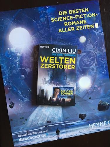 Weltenzerstörer Book Cover