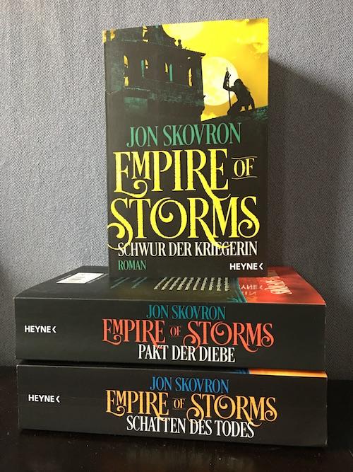 Schwur der Kriegerin Empire of Storms 3 Jon Skovron Heyne