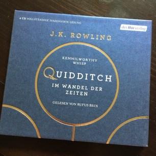Quidditch im Wandel der Zeiten J.K. Rowling der Hörverlag Hörbuch Rufus Beck
