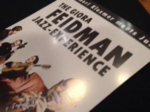 Heute The Giora Feidman Jazz-Experience