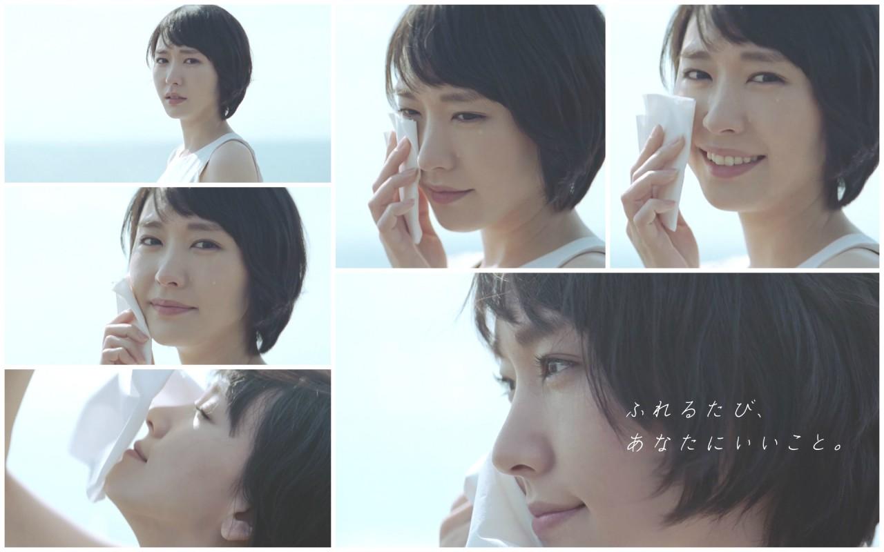 新垣結衣 日本製紙 Kleenex CM -「ふれるたび篇」記者會2