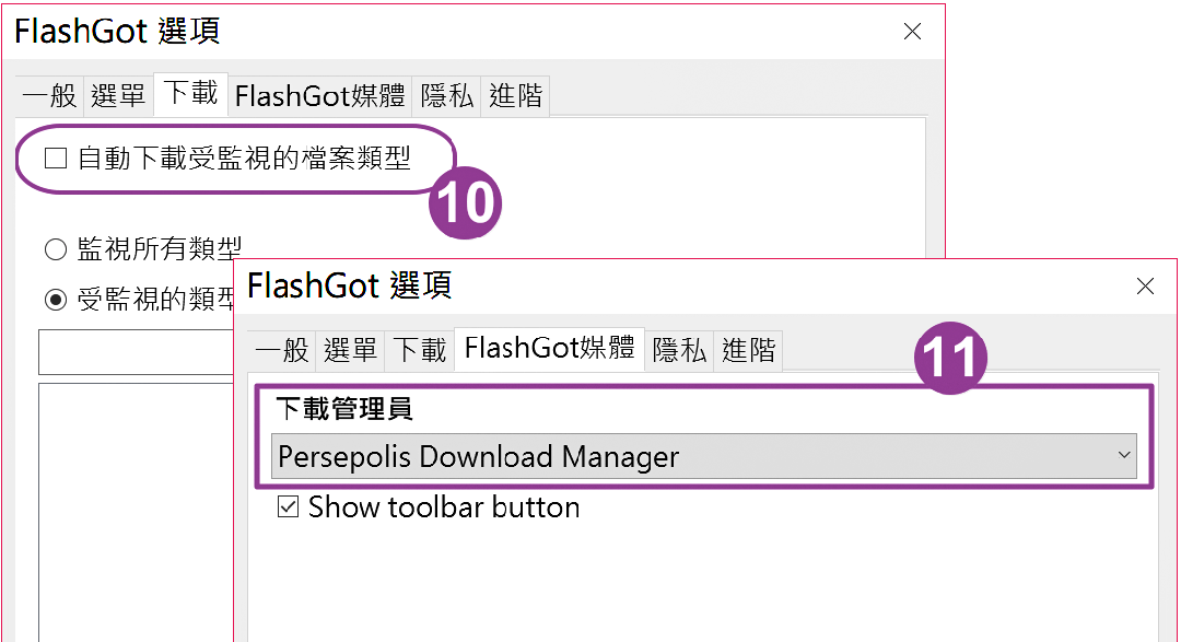 Persepolis Download Manager - 省去麻煩配置的 Aria2 下載器圖形介面版6