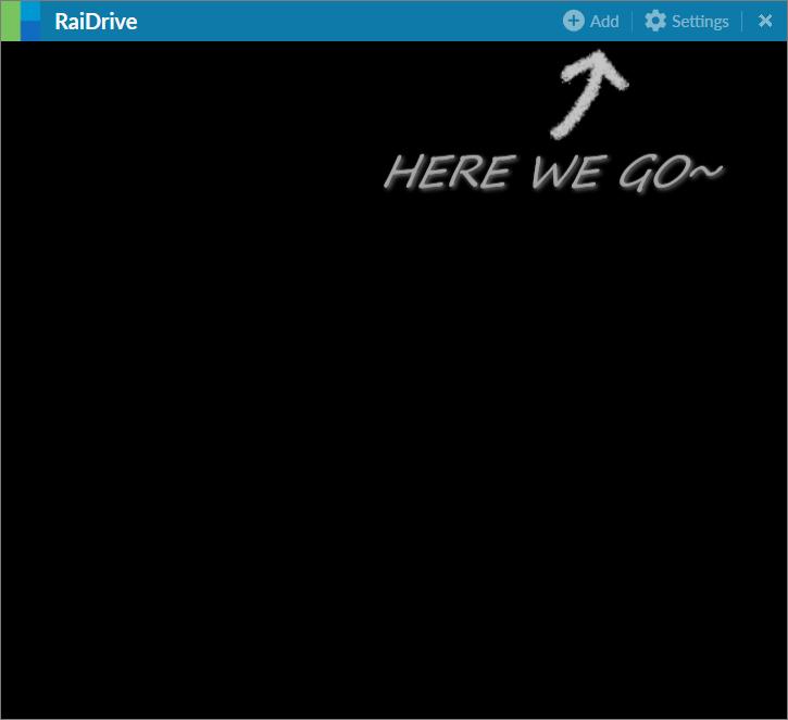 RaiDrive 掛載雲端硬碟1