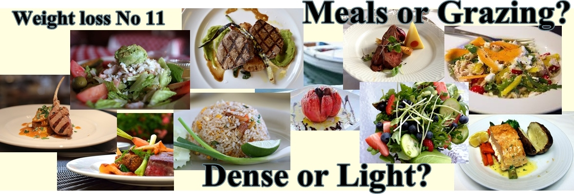 Meals or Grazing? – Weight Loss No. 11