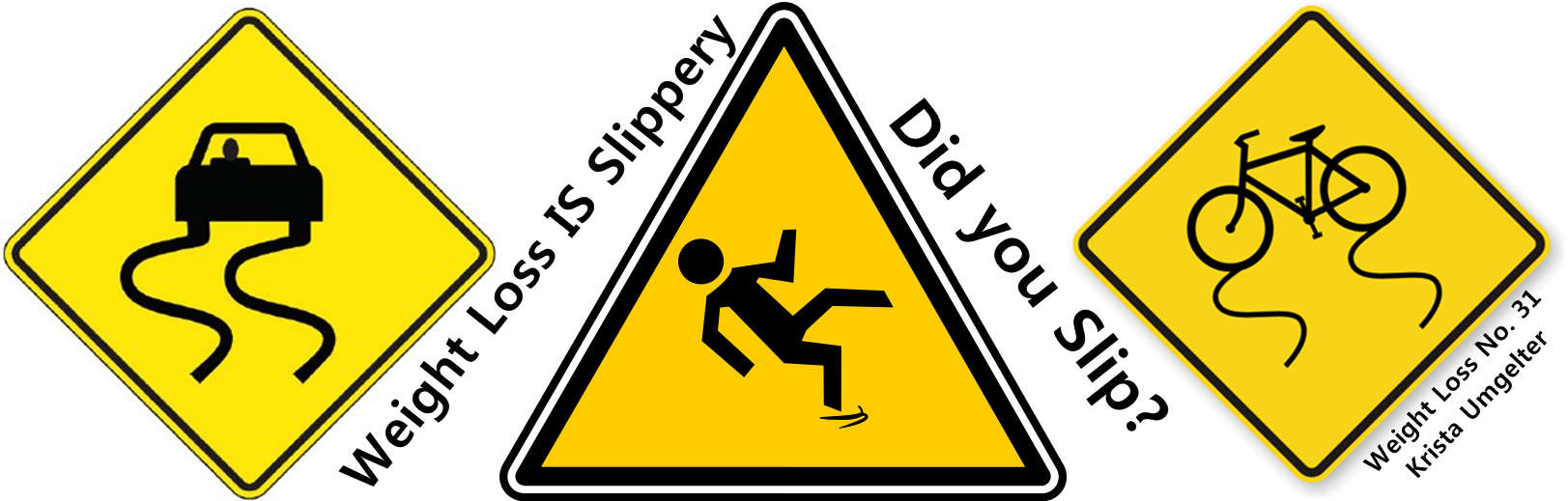 Weight Loss is Slippery. Did you slip? Are you about to? – Weight Loss No. 31
