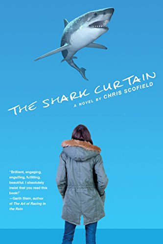 The Shark Curtain by Chris Scofield | books, reading, book covers