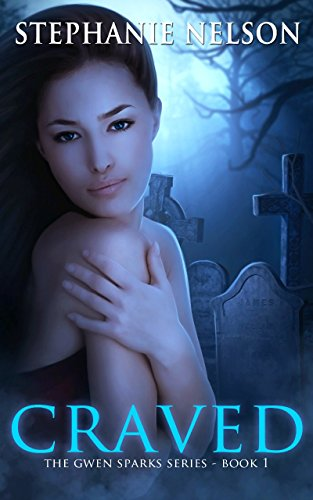 Craved by Stephanie Nelson | books, reading, book covers, cover love, cemeteries