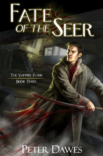Fate of the Seer by Peter Dawes | reading, books, book covers, cover love, vampires