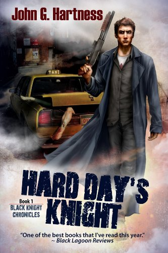 Hard Day's Knight by John G. Hartness | reading, books, book covers, cover love, vampires