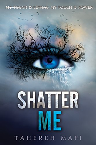 Shatter Me by Tahereh Mafi | books, reading, book covers, cover love, eyes