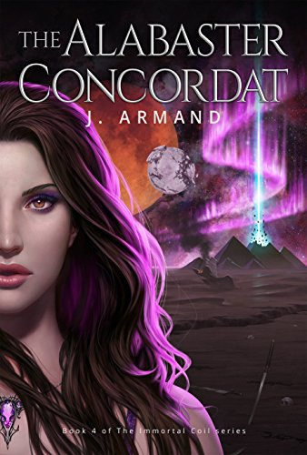 The Alabaster Concordat by J. Armand | reading, books, book covers, cover love